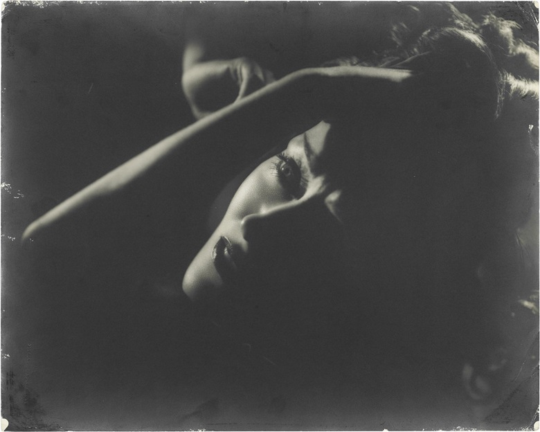 Clarence Sinclair Bull (1896–1979), Gloria Swanson, 1934. Blindstamped photographers credit (image); stamped photographers credit and various annotations in pencil (verso), imagesheet 16 x 19¾ in (40.6 x 50.5 cm). Estimate $2,000-3,000. This lot is offered in Photographs The Classics, 6-15 December 2016, Online. © The John Kobal Foundation