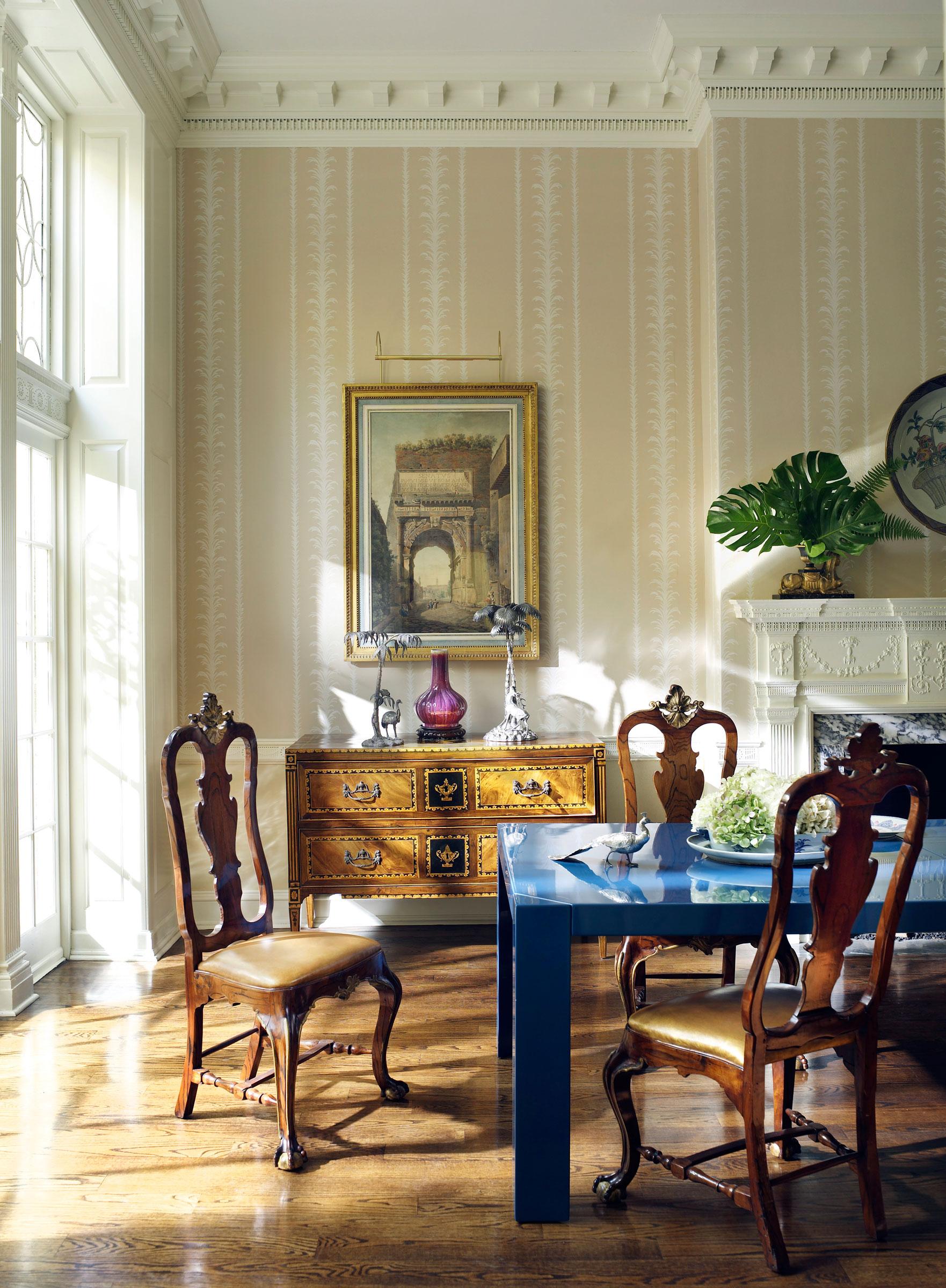 A Thomas Jayne Interior. Photograph By Peter Estersohn