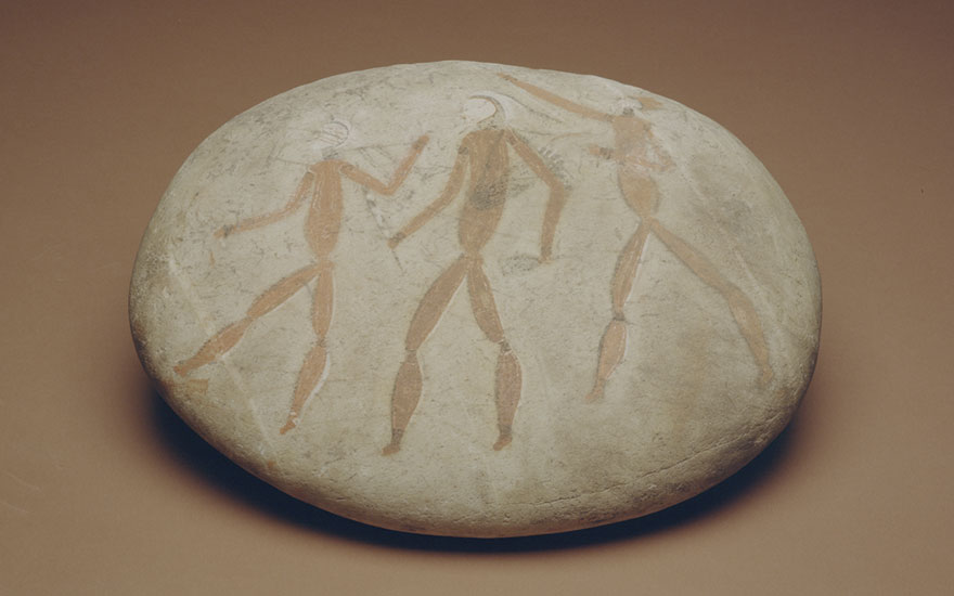 Coldstream Stone, ochre, stone, circa 7000 B.C. © Iziko Museums of South Africa, Social History Collections, Cape Town