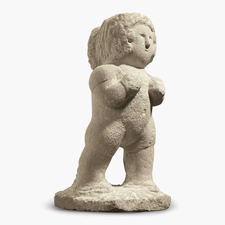 William Edmondson (1874–1951), Boxer, circa 1936. Limestone. 17 x 7¼ x 9¼ in. Estimate $150,000–250,000. Sold for $785,000 on 22 January at Christie's New York
