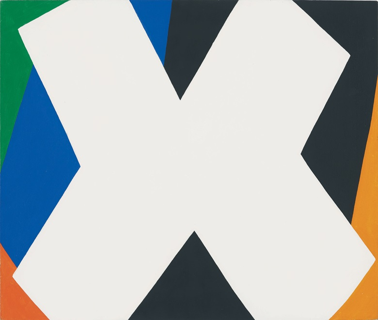 Ellsworth Kelly (1923-2015), White Cross, 1959. Oil on canvas. 17 x 20 in (43.2 x 50.8 cm). Private Collection. Photography by Jerry L. Thompson, courtesy of Ellsworth Kelly Studio © Ellsworth Kelly