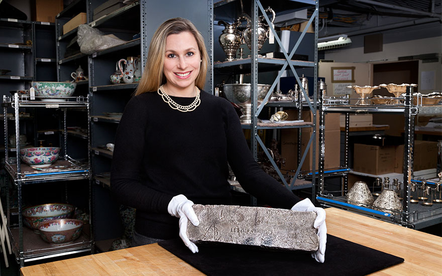 5 minutes with… A silver bar from a 17th-century shipwreck
