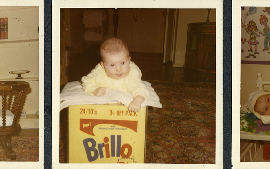 My father's $3 million Brillo Box