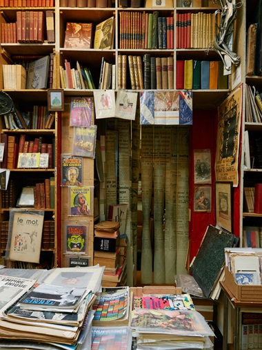 La Galcante's stock ranges from fanzines to first editions