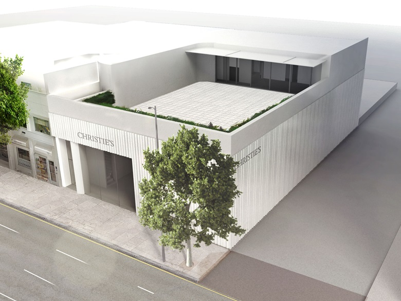 The design for Christie's new Los Angeles space, courtesy of wHY and Kulapat Yantrasast