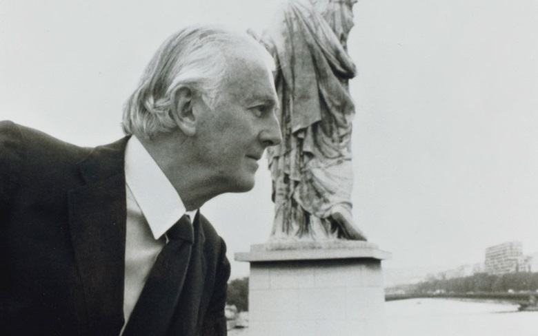Hubert de Givenchy, pictured in Paris