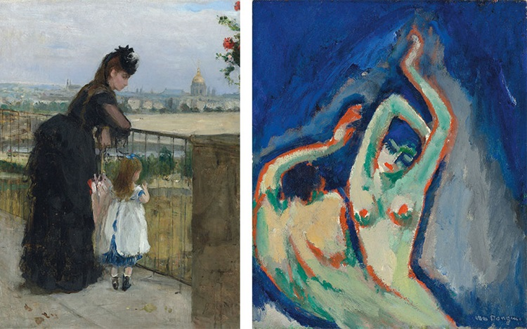 Works from the personal collec auction at Christies