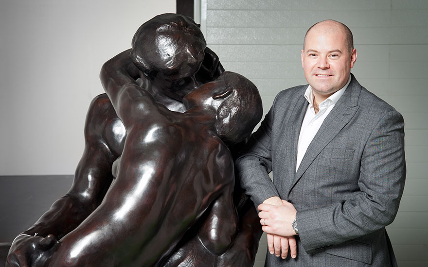 5 minutes with… Rodin's The Kiss