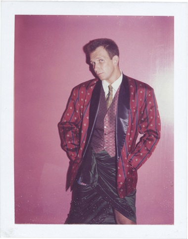 Andy Warhol (1928-1987), Jean Paul Gaultier 1984. Unique polaroid print, 4¼ x 3⅜ in (10.8 x 8.6 cm). Estimate $4,000-6,000. This work is offered in Andy Warhol@Christie's with NYFW The Shows online auction, 8-16 February  © 2017 The Andy Warhol Foundation for the Visual Arts, Inc.  Artists Rights Society (ARS), New York