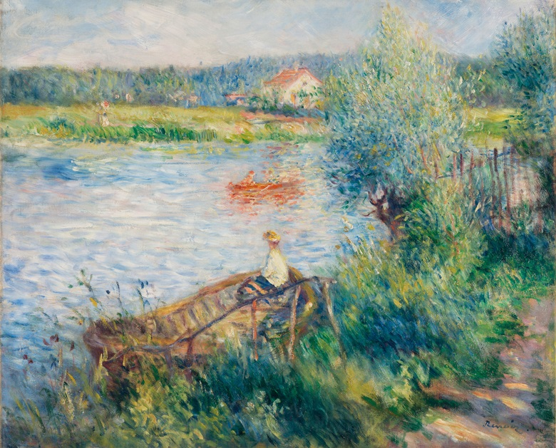 Pierre-August Renoir, Canotage à Bougival, 1881. Estimate £3,700,000-4,700,000. This work is offered in the Impressionist & Modern Art Evening Sale on 28 February at Christie's London