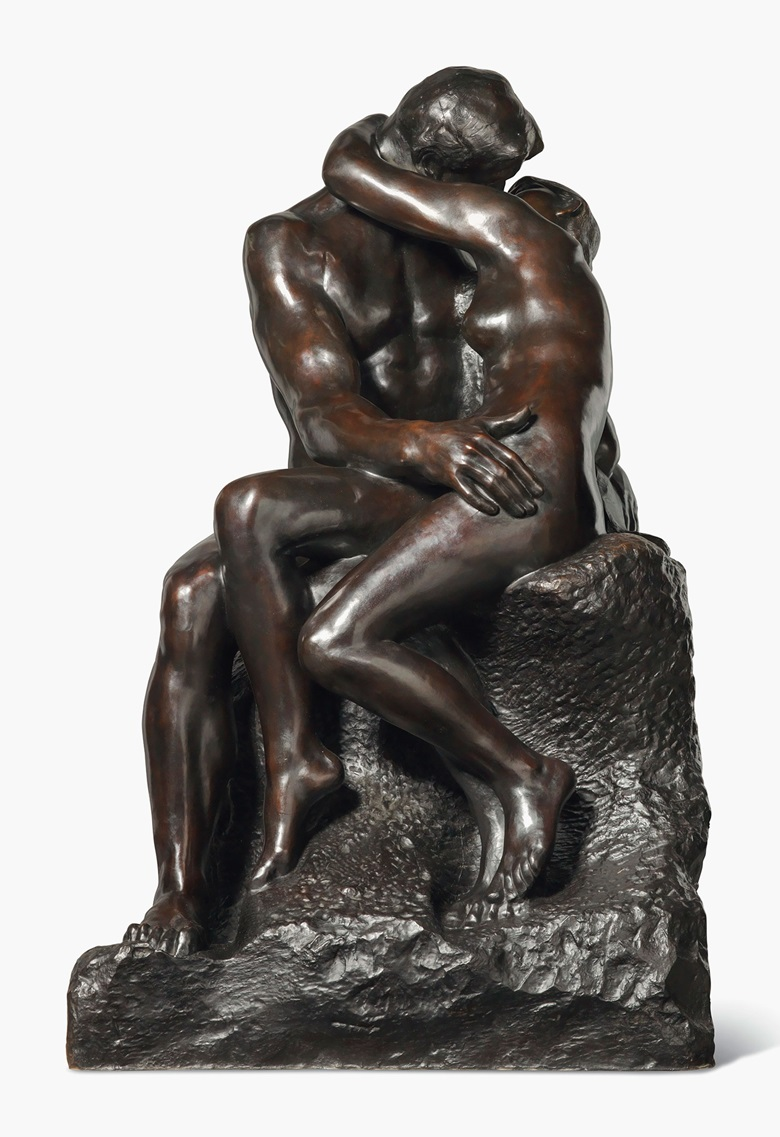 Auguste Rodin, Le baiser, circa 1882. Estimate £4,000,000-6,000,000. This work is offered in the Impressionist & Modern Art Evening Sale on 28 February at Christie's London