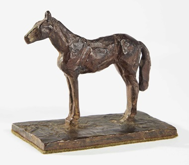 Diego Giacometti 1902-1985, Mill Reef, second version, 1973. 11.5 x 13 x 7.5 cm (4½ x 5⅛ x 3 in). Estimate €60,000-80,000. This lot is offered in Les Giacometti dHubert de Givenchy on 6 March 2017 at Christie's in Paris