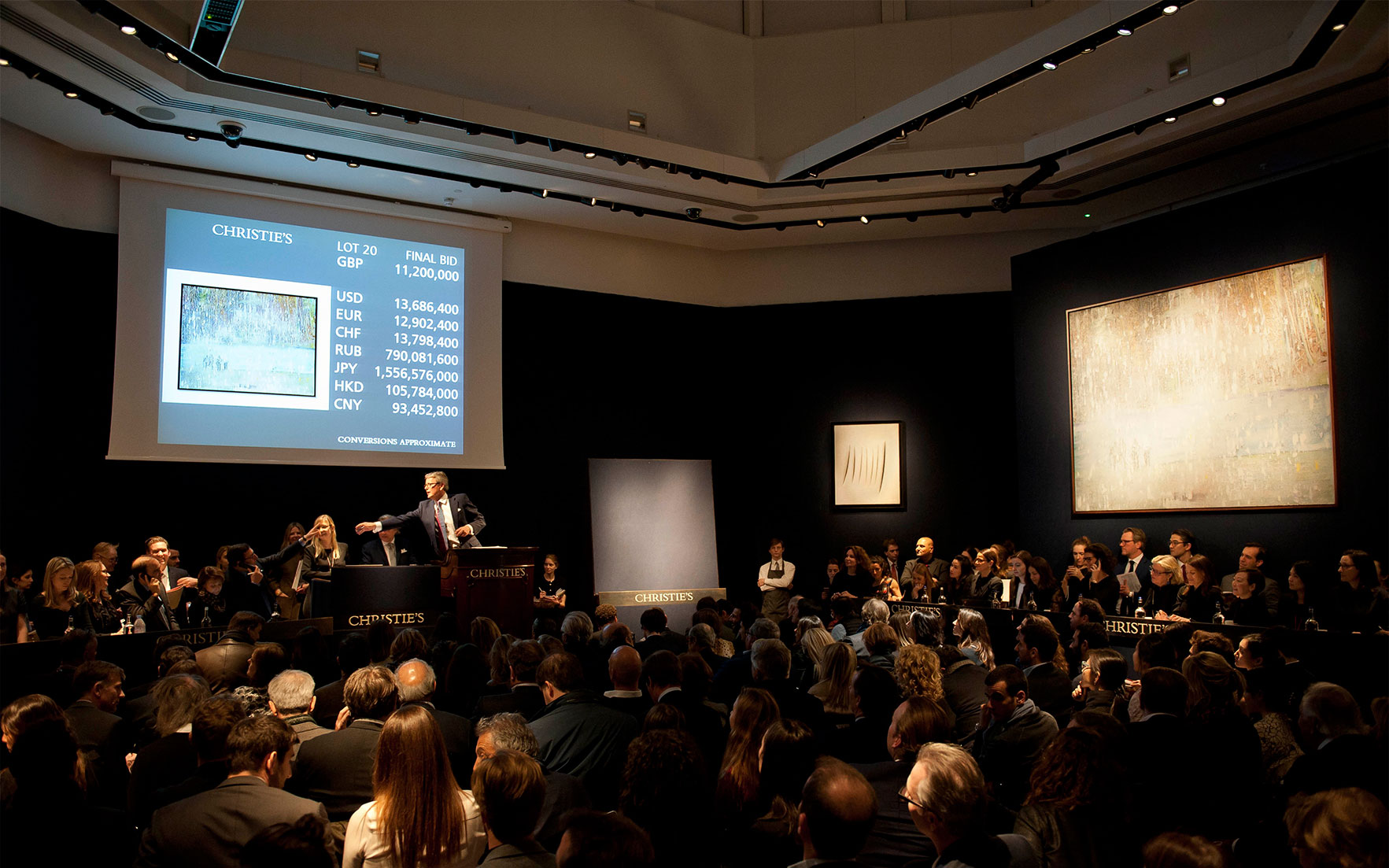 Live Blog 20th Century at Christie's