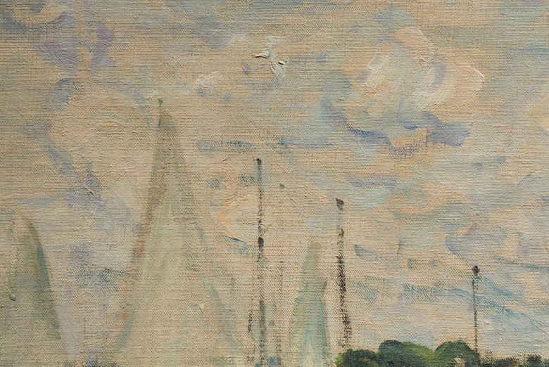 A detail of a work from our Impressionist & Modern Art Evening Sale — but which great master is behind it Click here to find out, or follow the link in the text below
