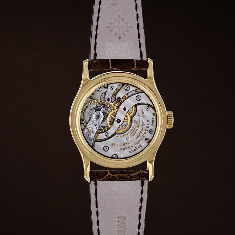 Patek Philippe reference 1526. 18k gold; diameter 34 mm. Estimate $80,000-100,000. This lot is offered in Christie's Watches Online Time for Spring, 7-14 March