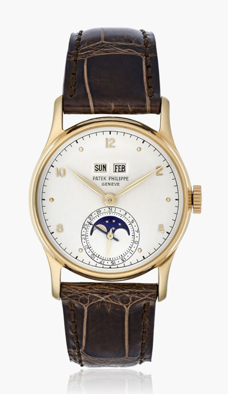 Patek Philippe. Perpetual Calendar, Ref. 1526. Estimate $80,000-100,000. This lot is offered in Christies Watches Online Time for Spring, 7-14 March 2017