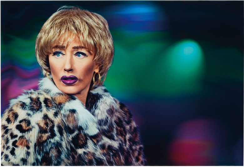 Cindy Sherman (b.  1954), Untitled #554, 20102012. Signed, dated and numbered '710' in ink and typed credit, title, date and number on affixed gallery labels (frame backing board). Image 23¼ x 34 in (59.1 x 86.4 cm); overall 24¼ x 35 in (61.6 x 88.9 cm). Estimate $60,000-80,000. This lot is offered in Photographs Including Property Sold to Benefit the Elton John AIDS