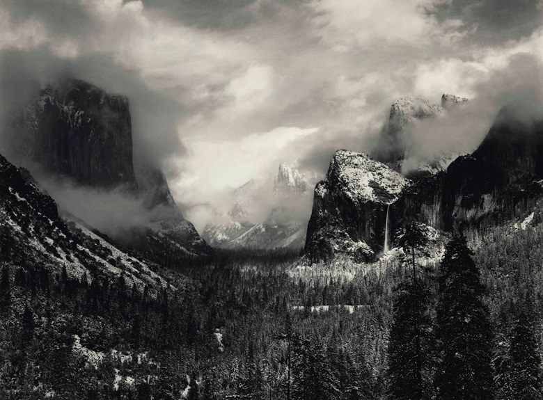 10 things to know about ansel adams christie 39 s for Ansel adams mural