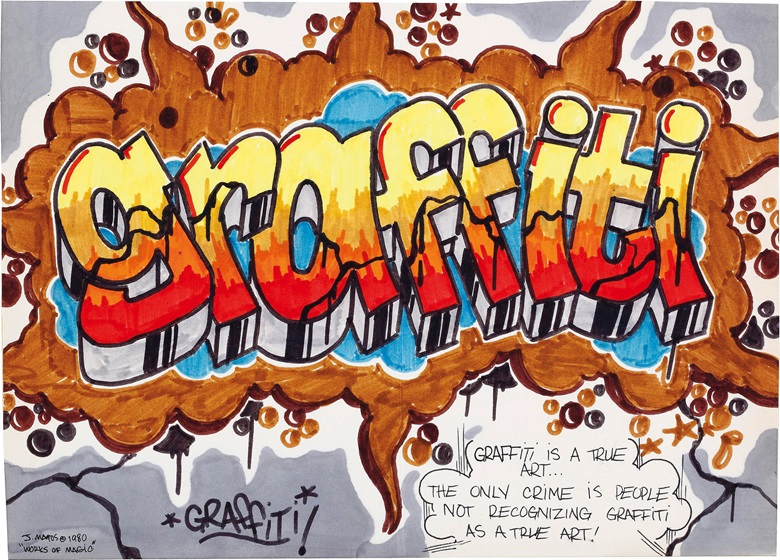 Graffiti Art: An Essay Concerning The Recognition of Some Forms of Graffiti As Art