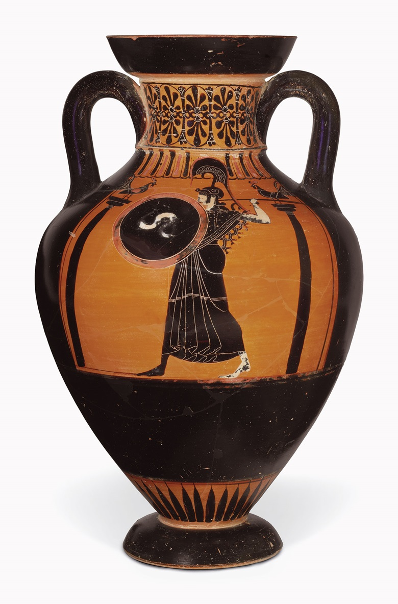 Greek vases a collecting guide christies an attic black figured pseudo panathenaic amphora circle of the antimenes painter c 500 bc 17 in 45 cm high this lot was offered in antiquities on reviewsmspy