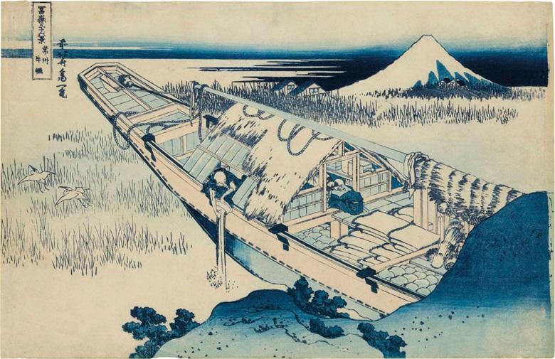 Takuji Hamanaka On Adopting Hokusai S Printmaking Christie S