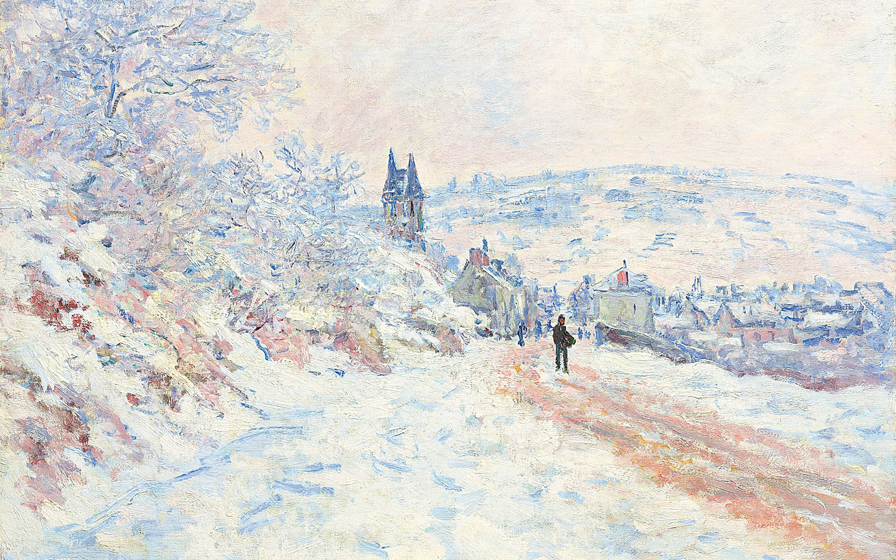 Works by Monet, Cézanne
