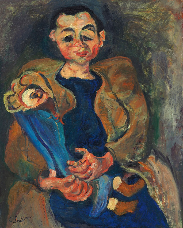 Chaim Soutine (1893-1943), Femme à la poupée, 1923-24. Oil on canvas, 31⅞ x 25⅝ in (80.8 x 65.1 cm). Estimate $3,500,000-4,500,000. This lot is offered in Impressionist & Modern Art Evening Sale on 15 May 2017, at Christie's in New York © 2017 Artists Rights Society (ARS), New York