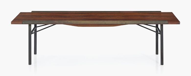Finn Juhl 1912 1989 A Benchlow Table Designed 1953 Sold