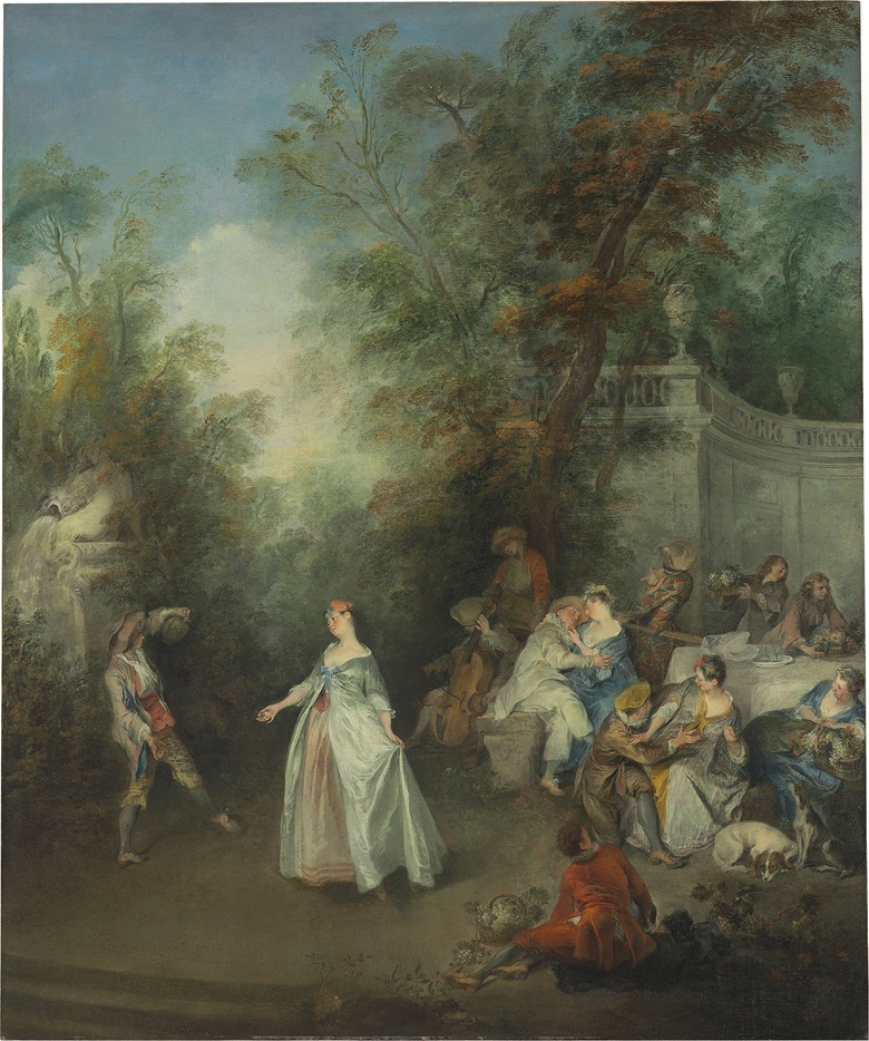 Nicolas Lancret (Paris 1690-1743), Autumn. Oil on canvas. 44⅝ x 36¾ in (113.3 x 93.4 cm). Estimate $2-4 million. This work is offered in Old Masters on 27 April at Christie's in New York