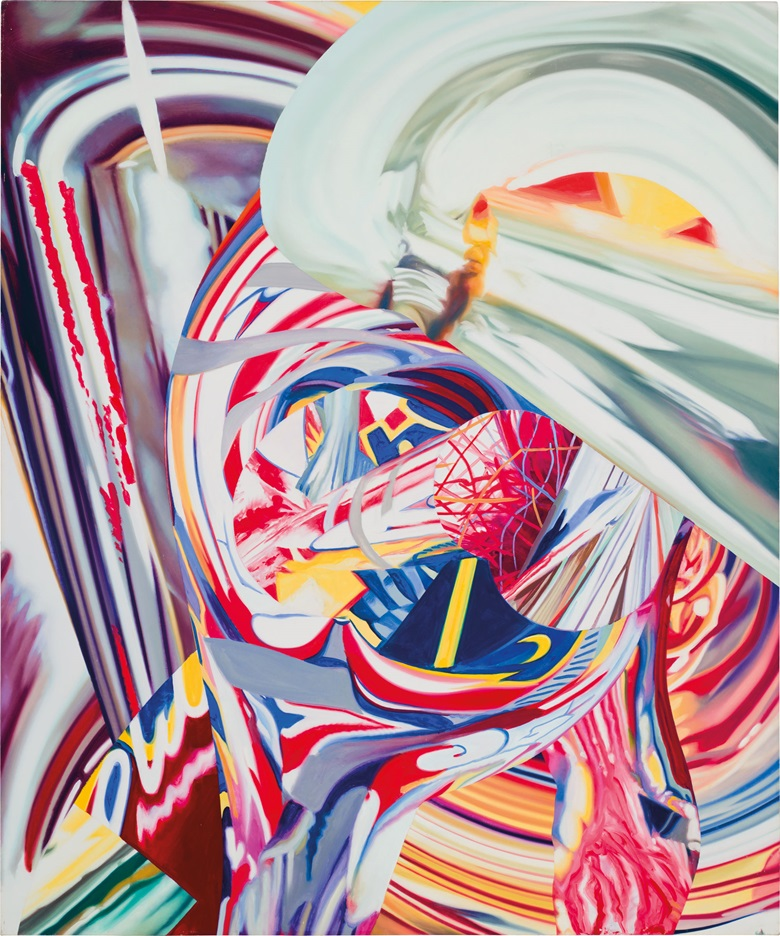 James Rosenquist (1933-2017). After Berlin #4, 1998. Oil on canvas. 57 x 47½ in. Estimate $200,000-300,000. This work is offered in the Post-War and Contemporary Art Morning Sale on 18 May at Christie's in New York