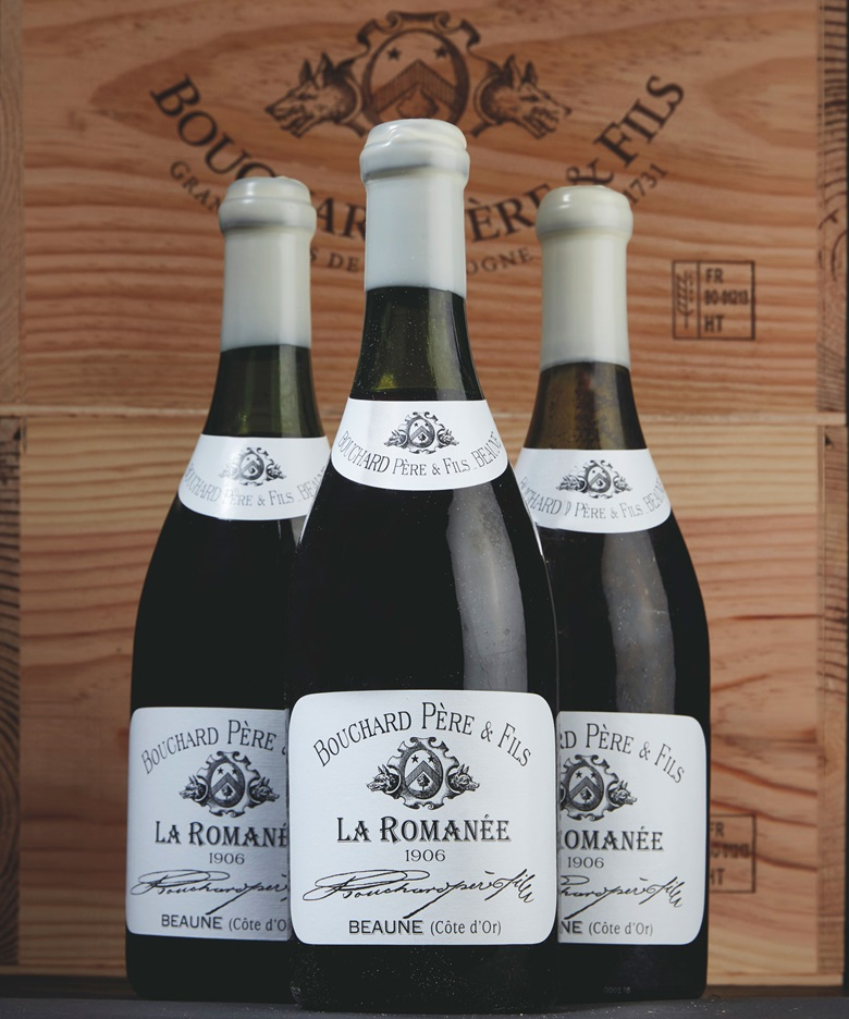 Bouchard Père et Fils, La Romanée 1906. 1 bottle per lot. Estimate SFr.2,000-3,000. This lot is offered in Fine and Rare Wines featuring an Exceptional Collection of La Romanée on 16 May 2017 at Christie's in Geneva