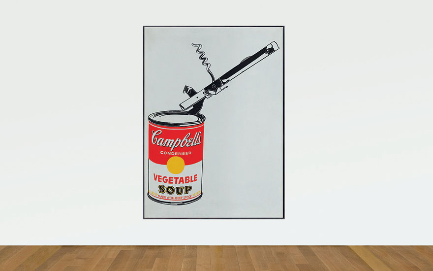 Andy Warhol's Big Campbe