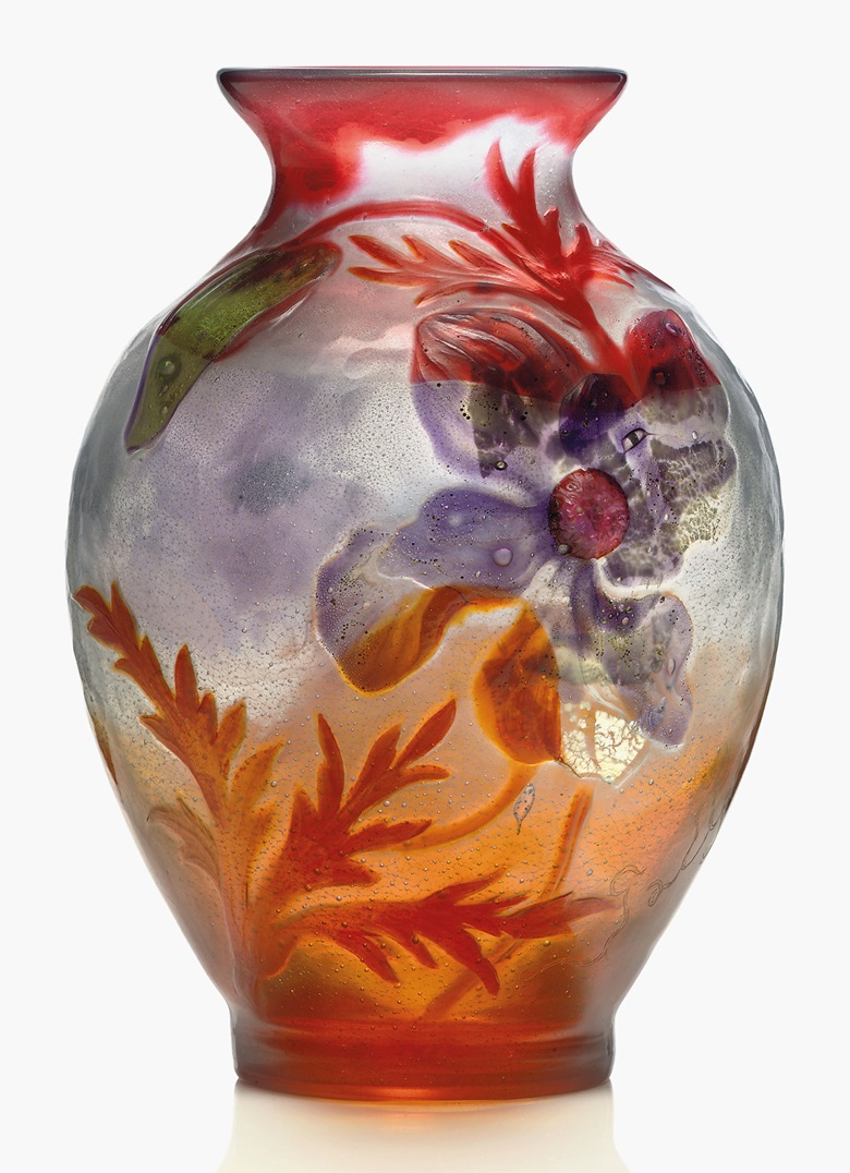 Galle glass collecting guide christies gall pavot marqueterie sur verre vase c 1898 glass reviewsmspy