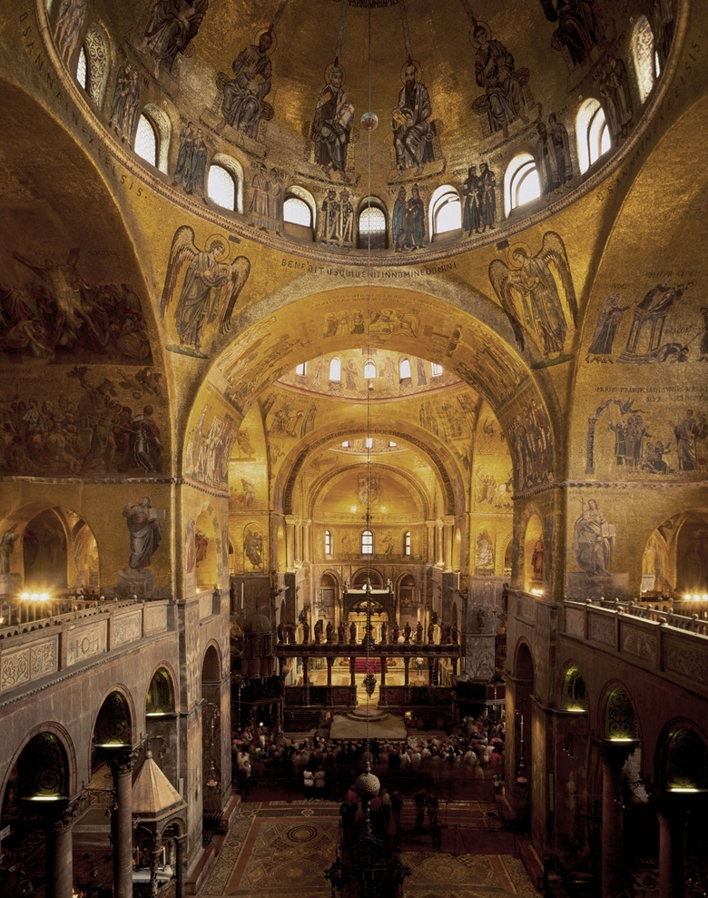 'The spiritual and emotional centre of Venice' — the interior of St Mark's Basilica © Michael Harding  Alamy