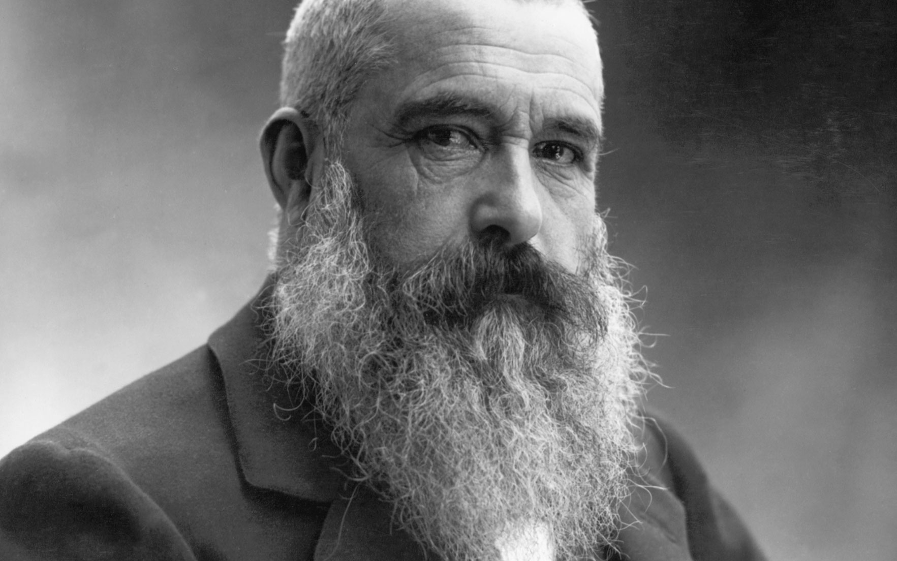 Claude Monet photographed by Nadar in 1899. © Photo BettmannGetty Images       .full-screen .image-preview { background-position 50% 30%!important; }
