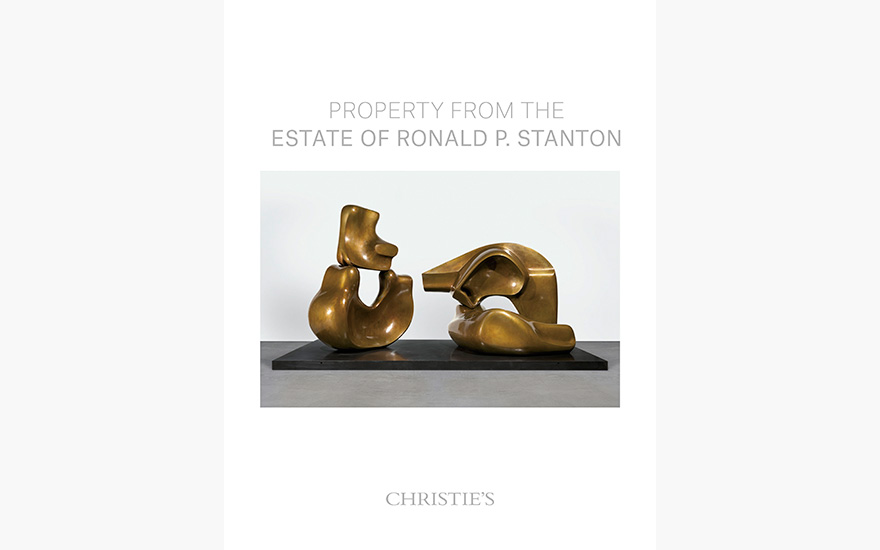 Special Publication: Property from the Estate of Ronald P. Stanton