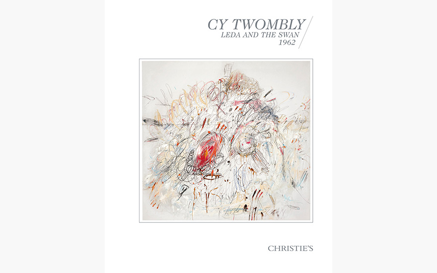 Special Publication: Cy Twombly's Leda and the Swan
