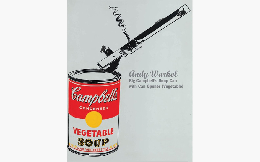 Special Publication: Andy Warhol's Big Campbell's Soup Can with Can Opener (Vegetable)
