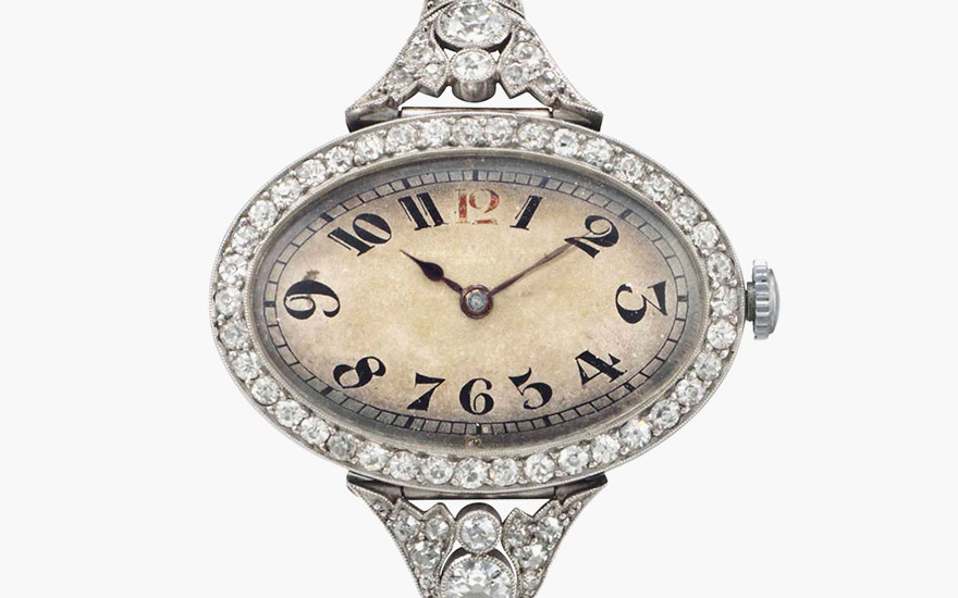 The Vacheron Constantin ladies bracelet watch, 1913