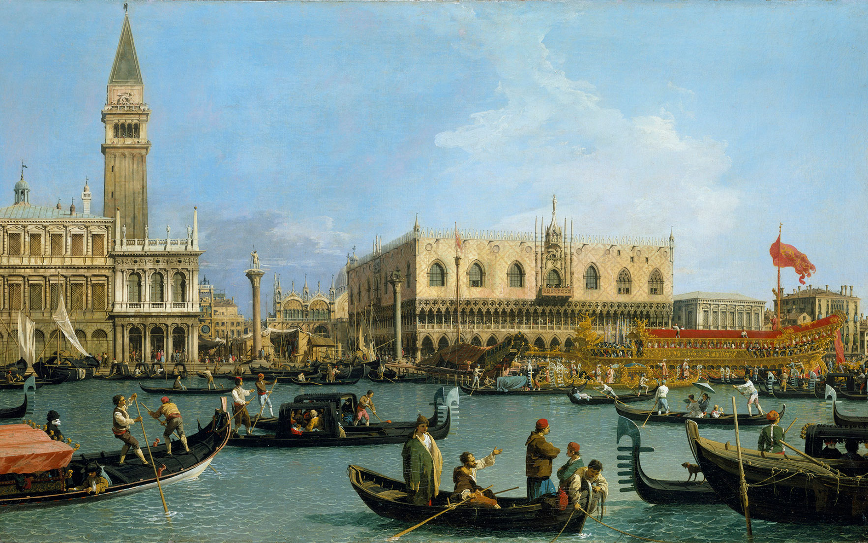 Canaletto, Venice The Central Stretch of the Grand Canal, c.1734. Royal Collection Trust © Her Majesty Queen Elizabeth II 2016       .full-screen .image-preview { background-position 50%