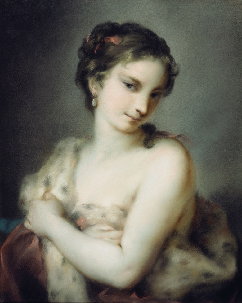 Rosalba Carriera, Winter, c. 1726. Royal Collection Trust © Her Majesty Queen Elizabeth II 2016
