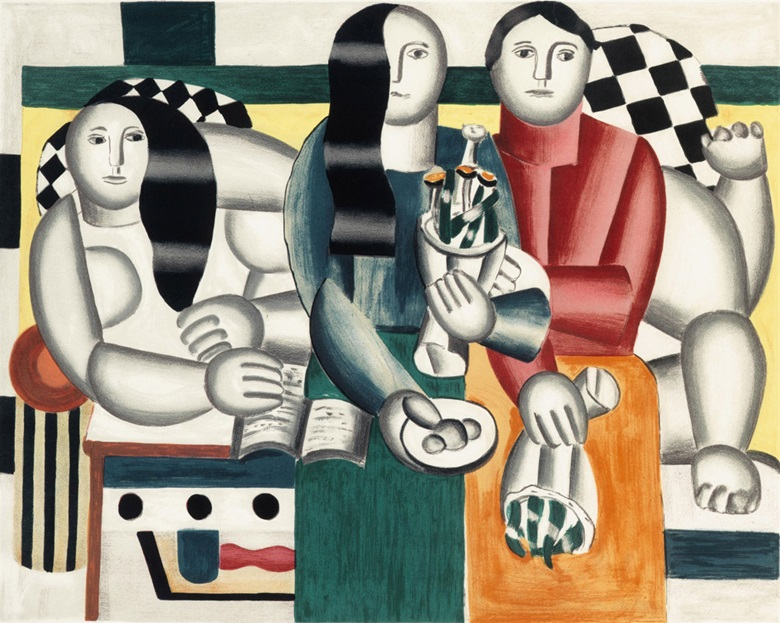 After Fernand Léger (1881-1955). Les femmes au bouquet, 1960. Image 20 x 25¼ in (508 x 641 mm). Sheet 24 x 35¼ in (610 x 895 mm). Estimate $1,000-1,500. This lot is offered in Modern Editions, 9-18 May 2017, Online