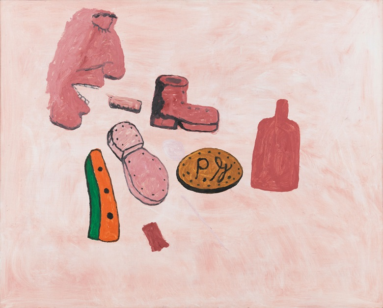 Philip Guston, Painter's Forms, 1972 © The Estate of Philip Guston. Private Collection. Photo Christopher Burke