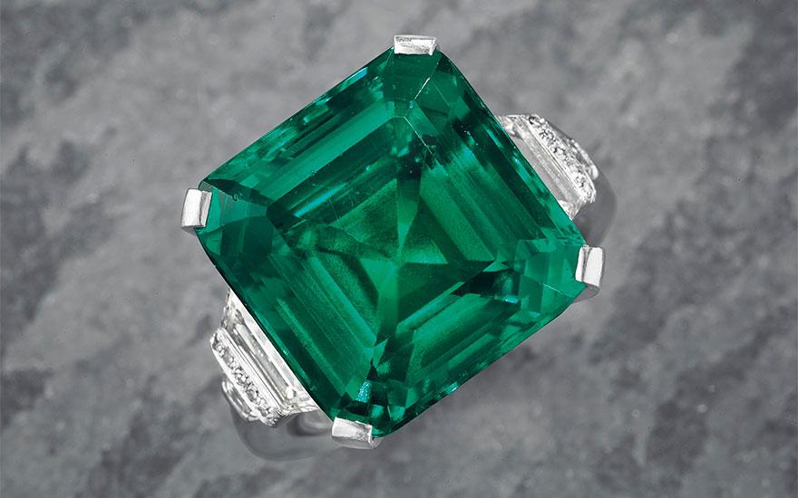 The Rockefeller Emerald: An em