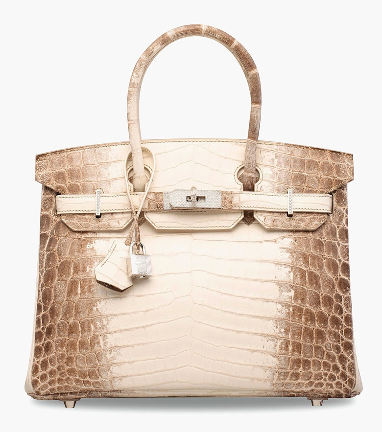 An exceptional Matte White Himalaya Niloticus Crocodile Diamond Birkin 30 with 18K white gold & diamond hardware. Hermès, 2014. 30 x 22 x 15 cm. Estimate HK$1,500,000-2,000,000. This lot is offered in Handbags & Accessories  on 31 May 2017 at Christie's in Hong Kong