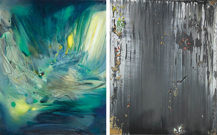 Contemporaries: Voices from Ea auction at Christies