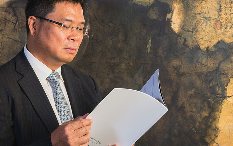 5 minutes with... Zhang Daqian auction at Christies