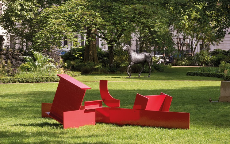 Sculpture in the Square — Caro auction at Christies
