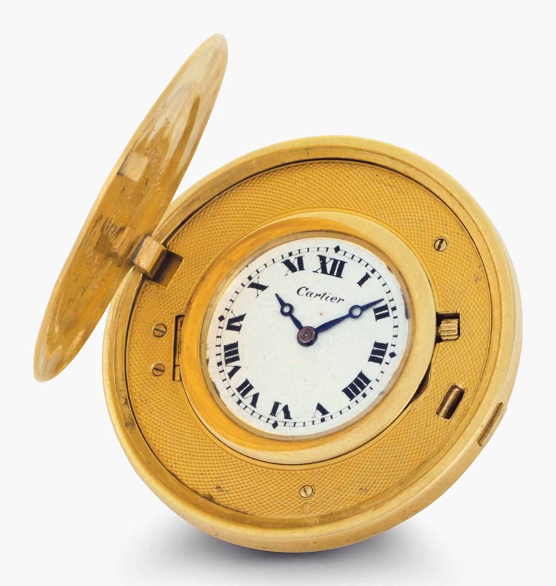 Cartier. A fine 18k gold Twenty Dollar Coin watch, given from American baseball legend Babe Ruth to his friend and well-known New York gangster 'Bumpy' Johnson. Signed Cartier, European Watch & Clock Co. Inc. No. 17426. Movement no. 26704. Manufactured in 1926. Estimate $50,000-100,000. This lot is offered in Rare Watches and American Icons on 21 June 2017, at Christie's in