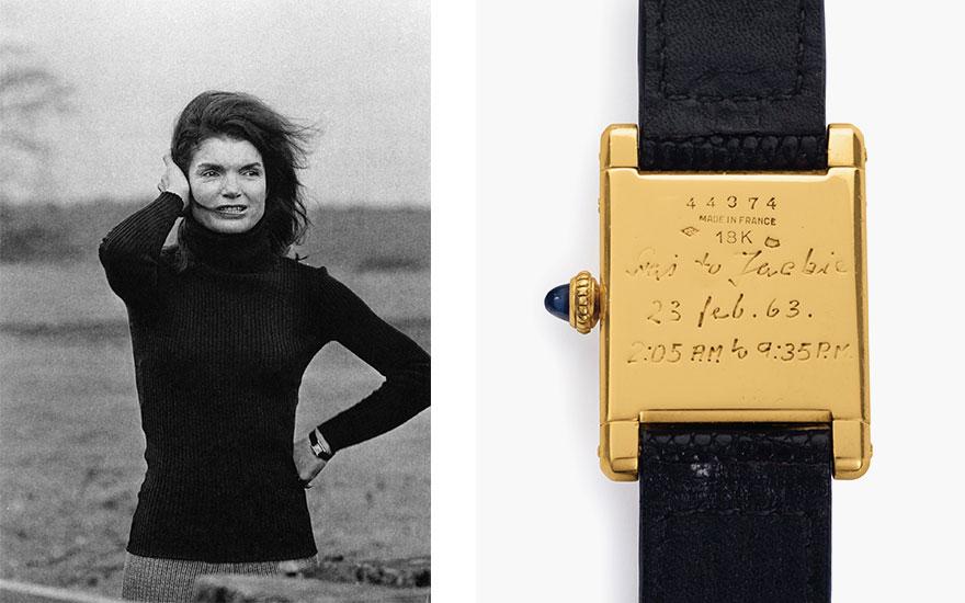 Jackie Kennedy's Cartier Tank